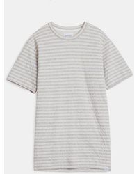 Norse Projects Ecru James Brushed Cotton T Shirt - Gray