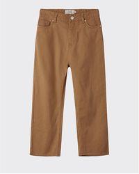 Minimum Tabakbraune Tamauli Jeans