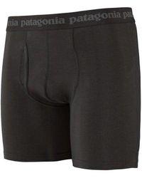 Patagonia - Black Mens Essential Boxer Brief - Lyst