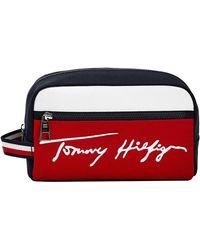 Tommy Hilfiger Signature Washbag Desert Sky - Multicolour