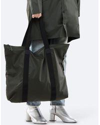 Rains Tote Rush Bag Green - Negro