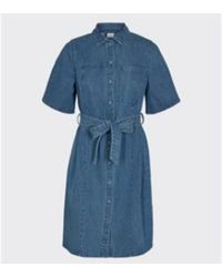 Minimum Hollar Robe courte 9074 - Bleu
