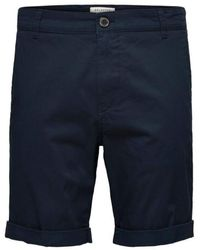 SELECTED Https://www.trouva.com/it/products/selected-homme-navy-paris-shorts-1 - Blu