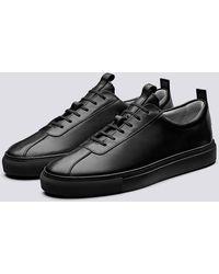 Grenson Sneaker 1 Nero Nero