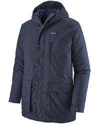 Patagonia S Maple Grove Down Parka New Navy - Blue