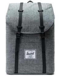 Herschel Supply Co. Backpack Retreat Raven Crosshatch Black