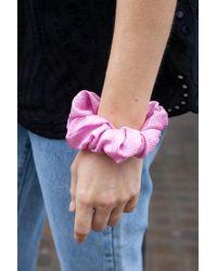 Stine Goya Hair Scrunchy Pink - Rosa