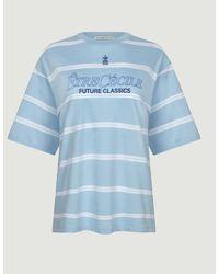 Être Cécile Camiseta de rayas Future Classics - Azul