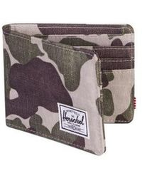 Herschel Supply Co. Camo Roy Frog Wallet - Multicolour