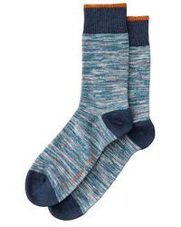 Nudie Jeans Rasmusson China Blue High Socks