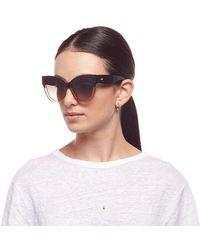 Le Specs Le Vacanze Black / Gold Sunglasses - Multicolor