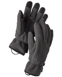 Patagonia Guantes Synchilla Forge Grey - Gris