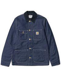 Carhartt Michigan Chore Coat - Blue