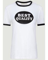 Être Cécile Beste Qualität T-Shirt - Weiß