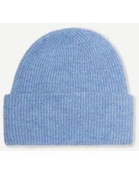 Samsøe & Samsøe Nor Hat Lichen Blue