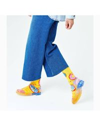 Happy Socks Calcetines grans donut hombre - Azul