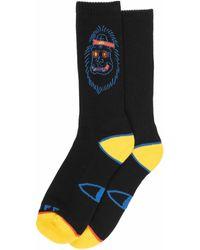 Poler Stuff Sasclops Socks Black