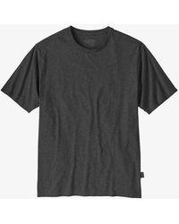 Patagonia T Shirt Road To Regenerative Ink Black