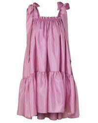 Stine Goya Serena Babydoll Dress Pink
