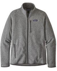Patagonia Chaqueta de forro polar Better Sweater para hombre Stonewash - Gris