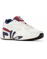 Fila Zapatos blancos y ruibarbo Marshmallow y ruibarbo M Mindblower - Multicolor