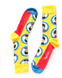 Happy Socks The Beatles Socks - Multicolour