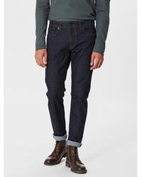 SELECTED - Indigo Straight Fit Jeans - Lyst