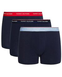 Tommy Hilfiger Https://www.trouva.com/it/products/tommy-hilfiger-3-pack-trunks-primary-red-desert-sky-moon-blue-1