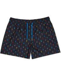 Happy Socks Palm Beach-Badeshorts - Blau