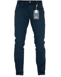 Levi's Hecho a mano 511 Slim Jeans Carter - Azul