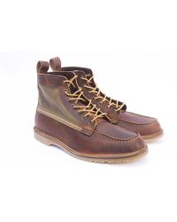 Red Wing Red Wing 03335 D 6 Moc Toe Boot Wacouta Lienzo Cobre - Multicolor