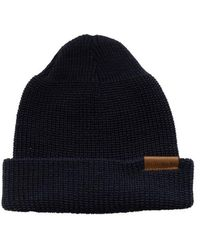 Red Wing Beanie Hat Navy - Blue