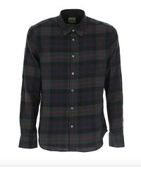 Paul Smith Camisa de cuadros a cuadros para hombre - Verde