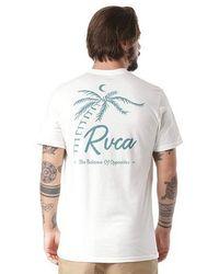 RVCA Tropicale T Shirt Antique White