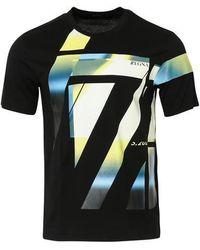 Z Zegna T-shirt noir Z Block Design