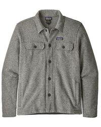 Patagonia Better Sweater® Fleece Shirt Jacket Stonewash - Grey