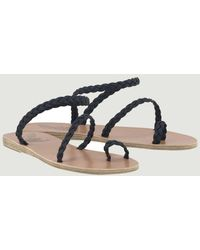 Ancient Greek Sandals Sandalias tejidas Eleftheria - Multicolor