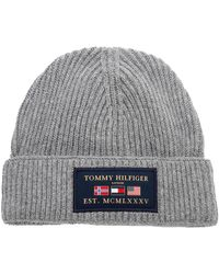 Tommy Hilfiger Gorro Outdoor Patch Gris
