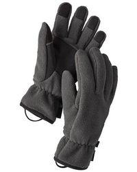 Patagonia Synchilla Forge Graue Handschuhe