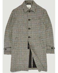 Oliver Spencer Grandpa Coat - Multicolor