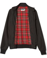 Fred Perry Black Polyester J7412 102 Reissues Womens Harrington Jacket