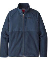 Patagonia Chaqueta con cáscara de suéter LW Better para hombre New Navy - Azul