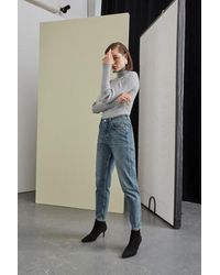 SELECTED Jeans Frida Mom in denim azzurro - Blu