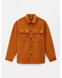 Dickies Camisa manga larga Pumpkin Spice Higginson - Naranja