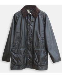 Barbour Giacca Beaufort sottile color salvia - Multicolore