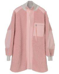 By Malene Birger Pale Rose Oversized Fit Carryl Coat - Pink