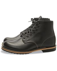 Red Wing Black Featherstone Beckman Boots