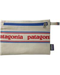 Patagonia Pochette à glissière Park Stripe Graphic Bleached Stone (PSGS) - Multicolore
