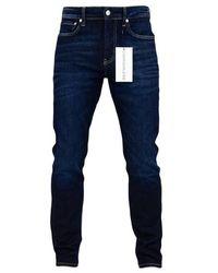 Calvin Klein Ckj 058 Slim Tapered Jeans Prime Blue - Azul