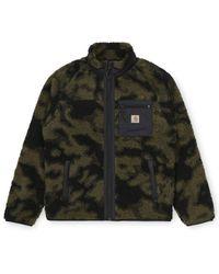Carhartt Prentis Liner Zip Fleece Camo Blur Vert - Multicolore